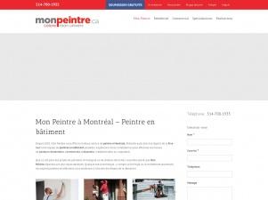 Mon Peintre: Entrepreneur peintre à Montréal