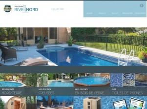 Piscines Rive-Nord, piscines hors-terre