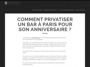 Privatiser Bar Paris