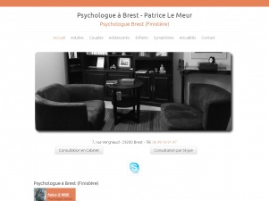 Psychologue Brest, Patricle Le MEUR