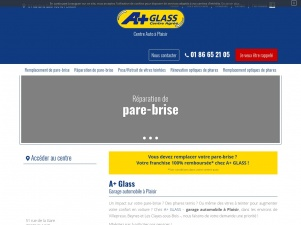 Centre auto A+ Glass – Reparation pare brise – Plaisir, 78