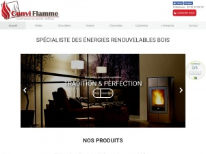 Conviflamme – installateur de poêles à Rouen