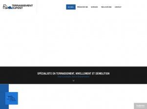 Dupont, entreprise de terrassement du Brabant Wallon