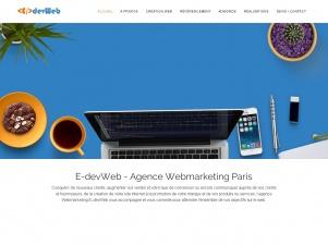 e-devweb, Agence Webmarketing à Paris