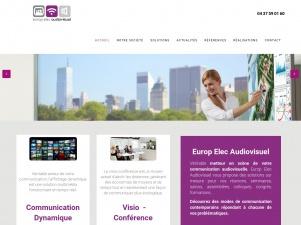Europ Elec Audiovisuel, spécialiste multimédia et audiovisuel