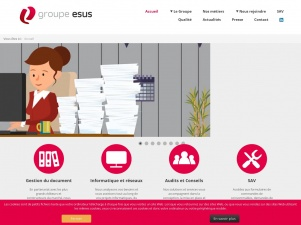 Groupe Esus: gestion des documents professionnels