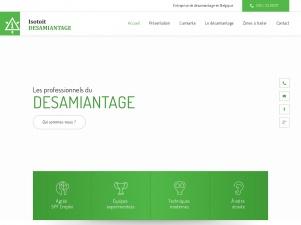 Isotoit, Entreprise de désamiantage certifiée à Liège