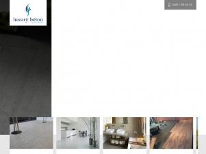 Luxury Béton, entreprise revêtement de sol en Belgique
