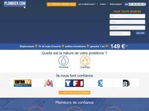 Plombier.com, trouvez votre plombier en un clic