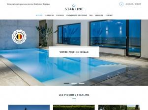 Starline, pisciniste dans le Hainaut