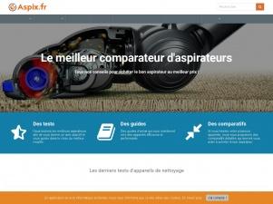 Aspix : comparateur d'aspirateurs en ligne