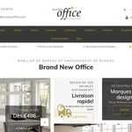Brand New Office, spécialiste de mobilier de bureau