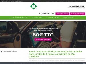 Centre de contrôle technique Autos Prévention Dekra