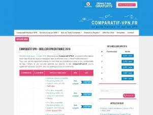 Comparatif-vpn.fr : le numéro 1 en France sur les VPN