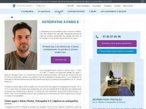 Contactez un ostéopathe du sport à Paris 8
