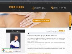 Ostéopathe pour enfantà Jouy-le-Moutier, Pierre Legros