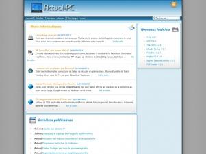 Actual-PC : forum d'information sur l'informatique