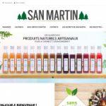 Commandez du vinaigre naturel de la marque San Martin