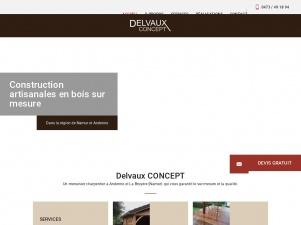DELVAUX CONCEPT, le spécialiste de la menuiserie sur mesure à Andenne et Namur