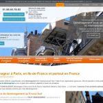 Déménagement, location location de monte-charge à Paris