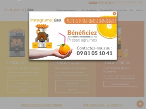 Instagrume, presse-agrumes automatiques Zumex pour professionnels