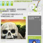 Leconcertpourtous: le blog de la musique