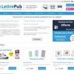 Lettre-Pub: votre autocollant personnalisé