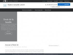 Maître Armelle LAGO: Avocat droit de la famille Paris 5