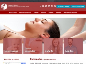 Ostéopathe à Massy – Aurélia Breonce