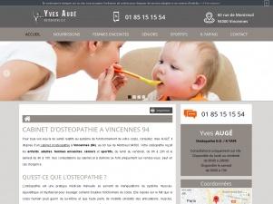Ostéopathe à Vincennes, Yves Augé