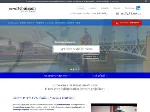 Pierre Debuisson, avocat indemnisation préjudice corporel à Toulouse