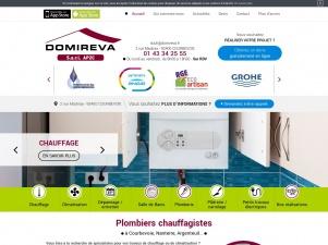 Plombier chauffagiste AP2C DOMIREVA – Courbevoie