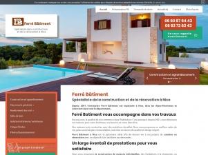 Spécialiste de la construction de maisons à Nice