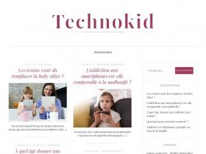 Technokid : les nouvelles technologies et nso enfants !