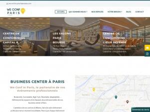 We Conf in Paris, location de salles de conférences à Paris