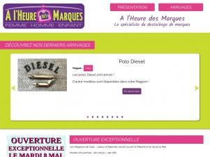 A l'Heure des Marques – vêtements de marques à prix discount