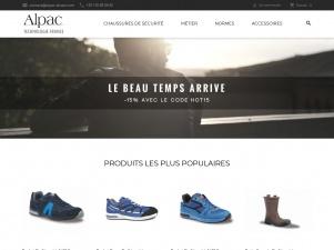 Alpac-shoes: vente de chaussures de sécurité