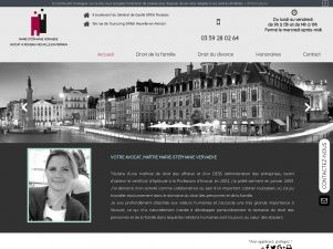 Avocat au Barreau de Lille (59), Maître Marie-Stéphanie Vervaeke