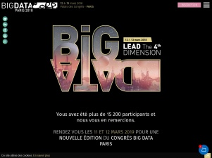 Big Data Paris : un congrès qui réunit autour du big data