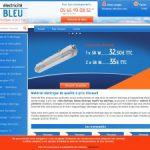 Electricité bleu, des marques à petits prix