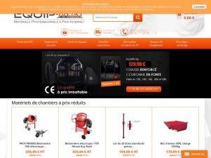 EquipMat, le matériel professionnel à prix internet
