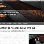 Fissure.ca expert en reparation de fissure de fondation en beton