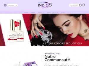 Indigo Nails