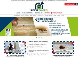 Nuisible Control, Entreprise traitement punaise de lit Paris