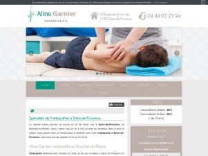 Ostéopathe à Salon-de-Provence, Aline Garnier