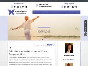 Psychothérapeute à Brétigny-sur-Orge,  Freddy Doussot