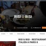 Restaurant italien Risi & Bisi  à Paris 8