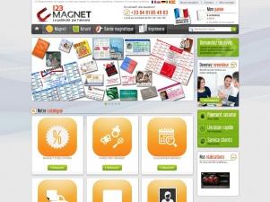 123 magnet : la vente et l'impression de magnet