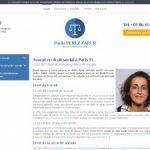 Avocat licenciement Paris 15 – Maître Paola Perez Zarur