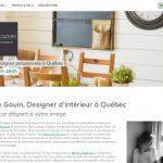 Designer intérieur Québec, Josée Gouin